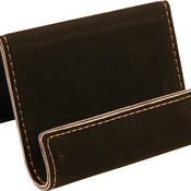 GFT259 Black Leatherette Holder/Easel