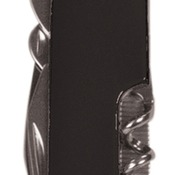 GFT011  Black Finish 8-Function Multi-Tool Pocket Knife