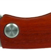 GFT016  Wood Handle Utility Knife