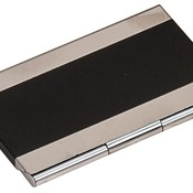 GFT125  Black Metal Business Card Holder