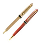LP204M  Maple Ballpoint Pen with Black Band