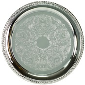 PC1012  Chrome Plated Tray, 12""
