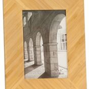 "PTF446  4"" x 6"" Bamboo Picture Frame"