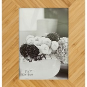 "PTF457   5"" x 7"" Bamboo Picture Frame"