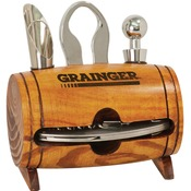 WTL03  Barrel 4-Piece Wine Tool Set