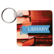 UN5524  2-Sided Gloss FRP Square Keychain