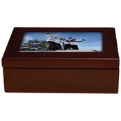 UN5990  Mahogany Box with Gloss Hardboard Insert