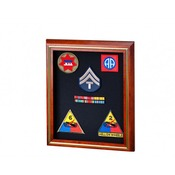 "SB-505-A Solid Cherry Shadow Box 8"" X 10"""