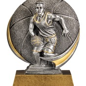 MX507 Round Motion Series Male Basketball Resin 5""