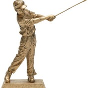 50624-G  -GOLF RESIN MALE 10 1/2""
