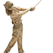 50625-G  -GOLF RESIN FEMALE 10 1/2""