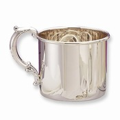 GP424 ~ Sterling Silver Hollow Handle Baby Cup