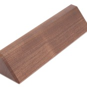 DS10  Genuine Walnut Desk Wedge