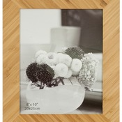 "PTF4810  8"" x 10"" Bamboo Picture Frame"