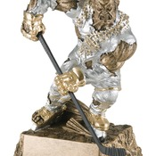 "MR-733 6-3/4"" High, Hockey Monster Series Award"