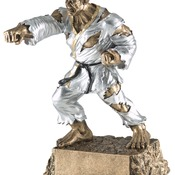 "MR-769 6-3/4"" High, Karate Monster Series Award"