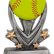 "VSR207   7"" Varsity Sport Resin Softball Trophy"