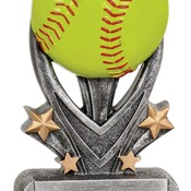 "VSR107   5-1/2"" Varsity Sport Resin Softball Trophy"