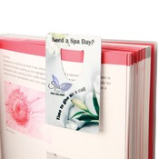 UN5767  Gloss Aluminum Bookmark