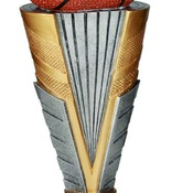 "ZNR302  12"" Zenith Resin Basketball Trophy"