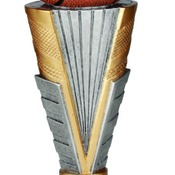 "ZNR202  9""  Zenith Resin Basketball Trophy"