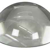 CRY3610  Premier Crystal Dome Paperweight
