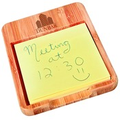 GFT228  Bamboo Sticky Note Holder