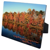 CLX5859  Gloss Hardboard Photo Panel with Easel