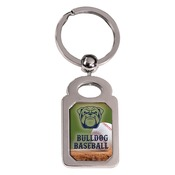 SBL010  Rectangle Keychain with Insert