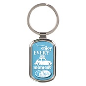SBL013  Rectangle Keychain with Insert