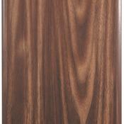 "WFC57 - 5"" x 7"" Walnut Finish Plaque with Cove Edge"