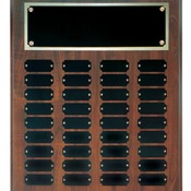 CPP36 Cherry Finish Perpetual Plaque with 36 Plates