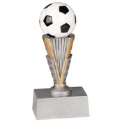 "ZNR104   6"" Zenith Resin Soccer Trophy"