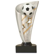 "BNN17   7"" Banner Resin Soccer Trophy"