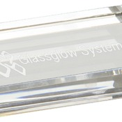 CRY3616  Premier Crystal Rectangle Paperweight