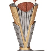 "ZNR303   12"" Zenith Resin Football Trophy"