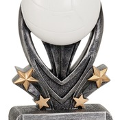 "VSR209  7"" Varsity Sport Resin Volleyball Trophy"