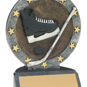 "R607   4-1/2"" All Star Resin Hockey Trophy"
