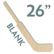 "Hockey04  26"" WOOD MINI HOCKEY STICK"