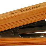 GFT051  Bamboo Mini Stapler