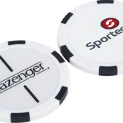 6050-79    Slazenger Turf Poker Chip Ball Marker